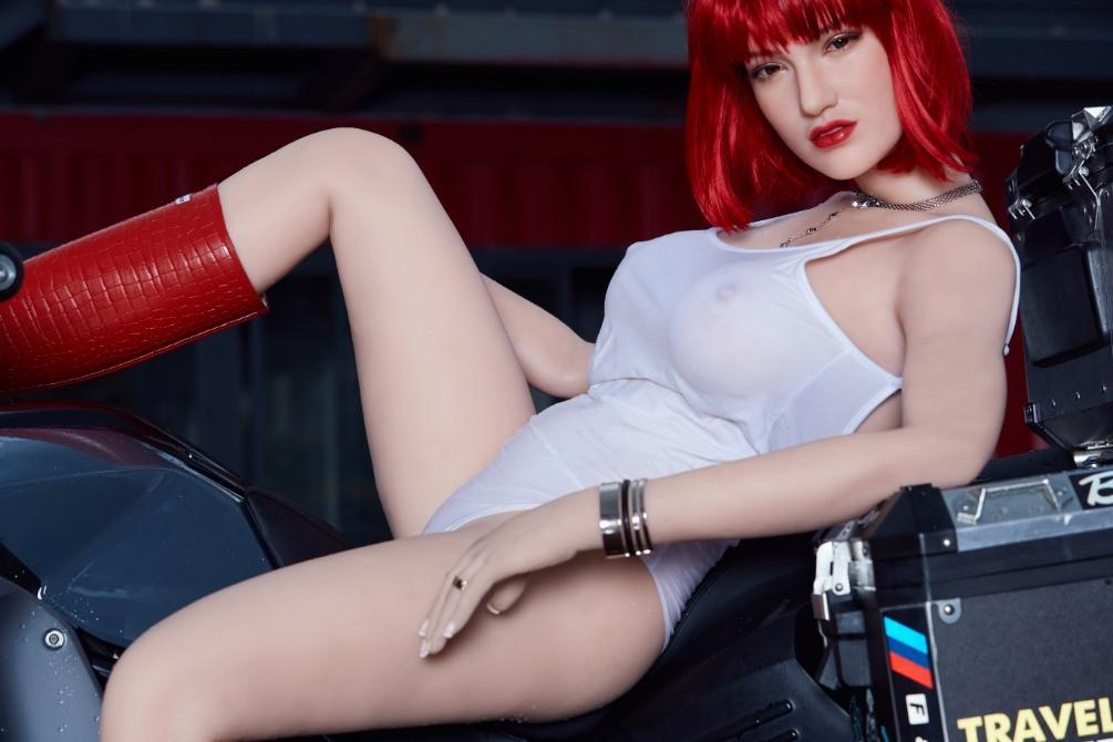 red hair sex doll with white skin