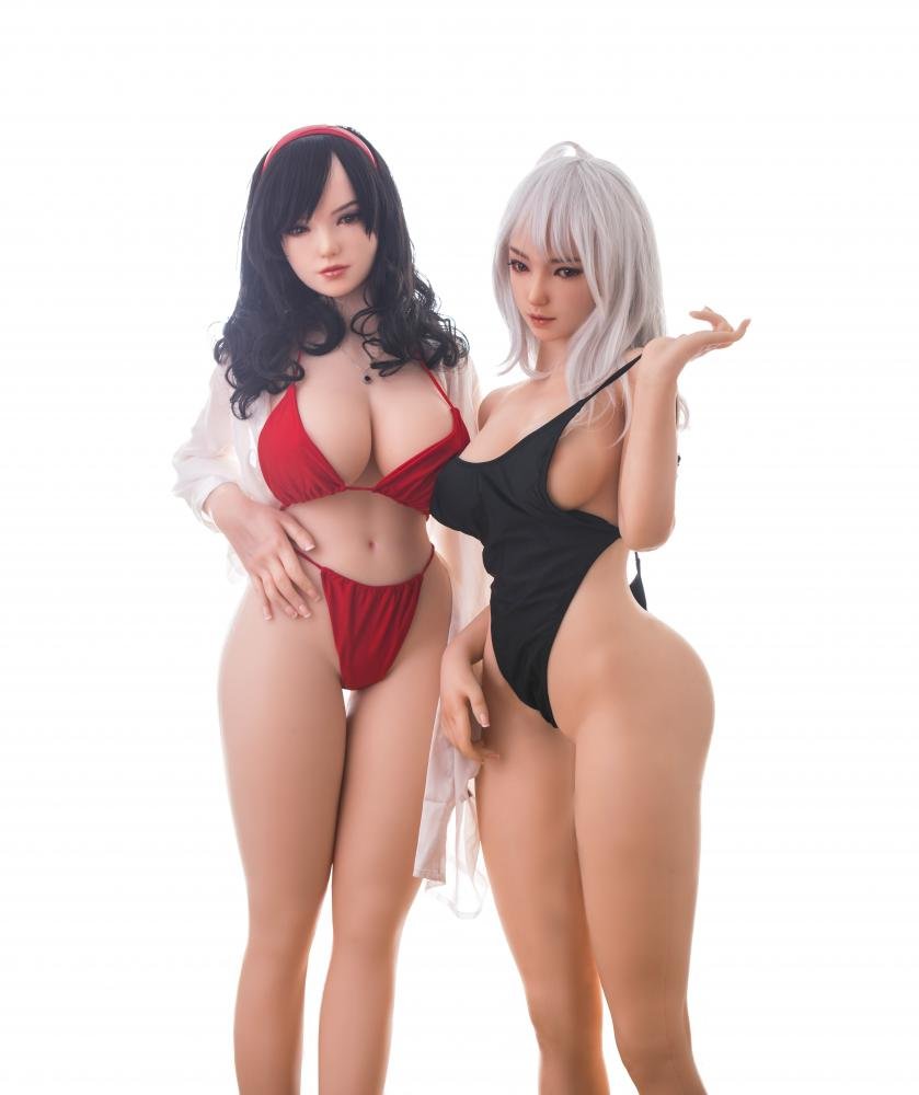 Twins Realistic Anime sex doll