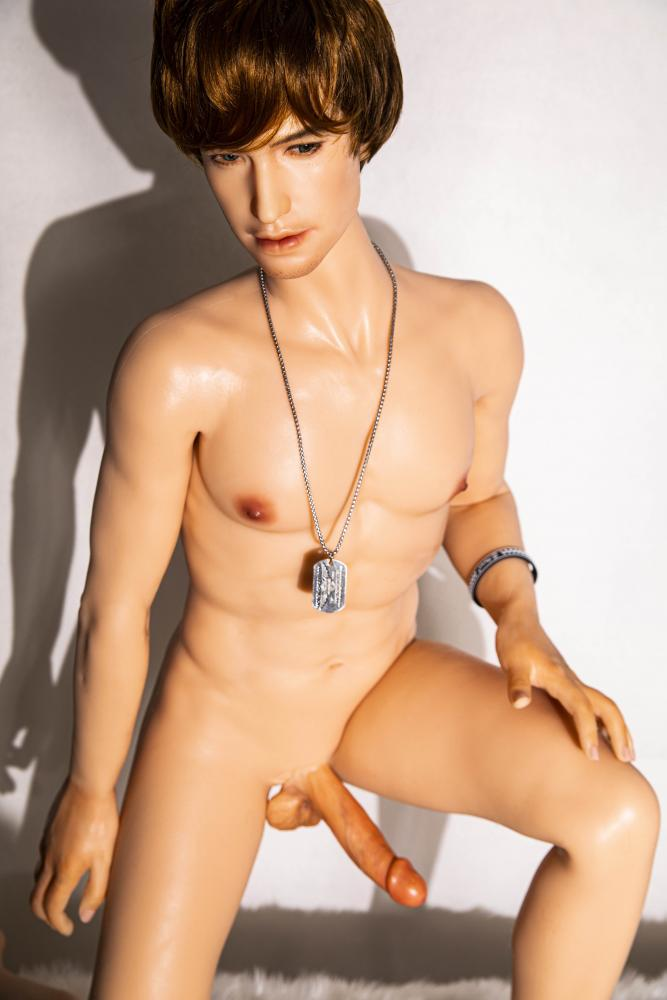 hyper-realistic male sex doll