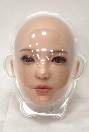 Silicone sex doll new head packing
